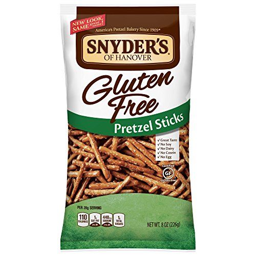 Snyders of Hanover 글루텐 프리 Pretzel Sticks 8 Ounce 팩 of 12