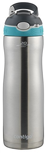 Contigo Stainless Steel Water Bottle  VacuumInsulated Water Bottle  AUTOSPOUT Ashland Chill Water Bottle 20oz StainlessScuba Scuba