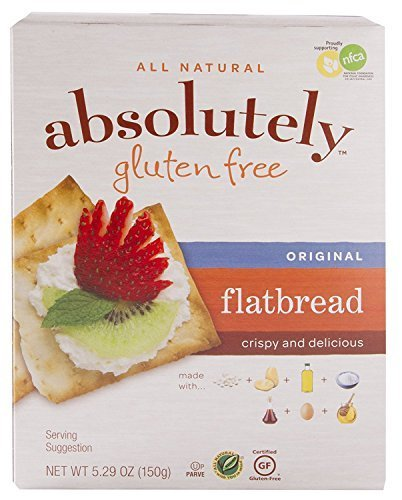 Absolutely 글루텐 프리 Original Flatbread 5.29Ounce 12 팩