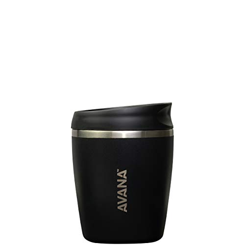 Avana C03632 Sedona Stainless Steel 더블Wall Insulated Thermal Tumbler 10oz Onyx Onyx